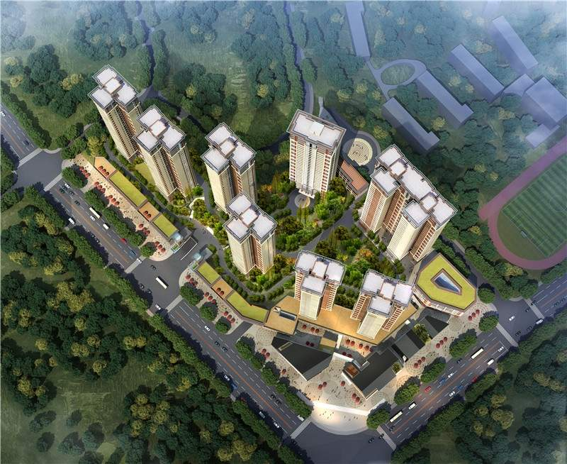 南光新城效果图