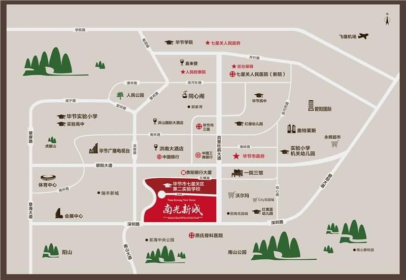 南光新城位置图