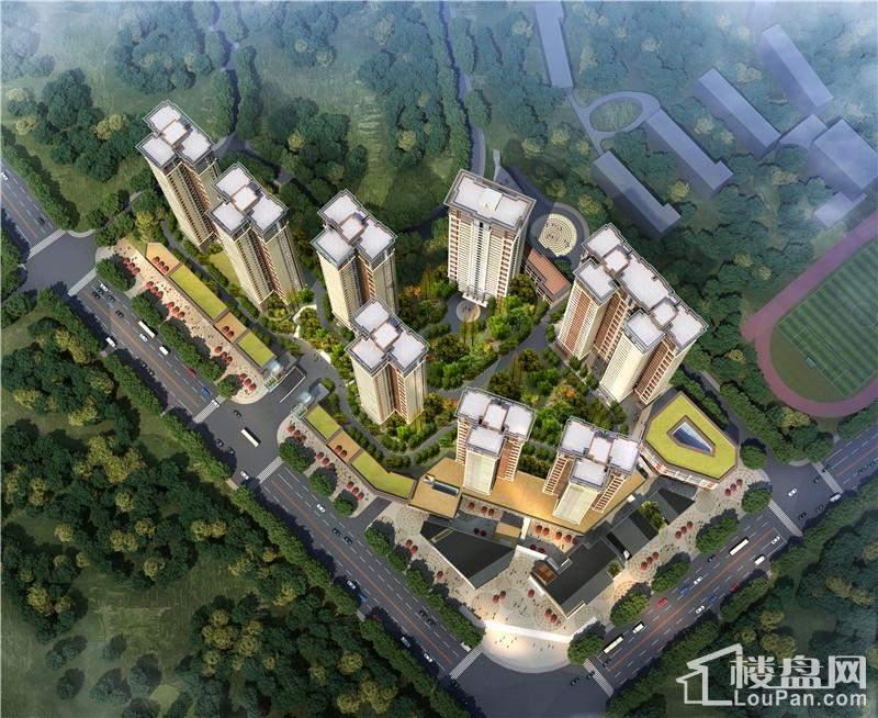 南光新城鸟瞰图