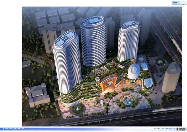 江华·国际旅游中心效果图