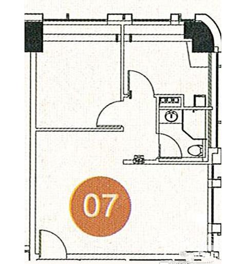 合汇·中央广场户型图