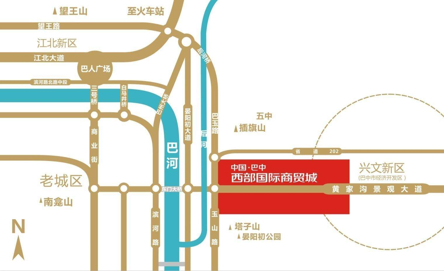 西部国际商贸城位置图