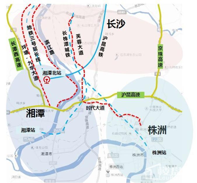 湘江富力城位置