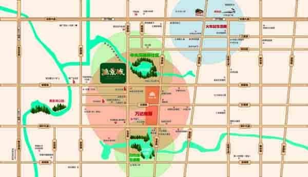 德商汇景城位置图