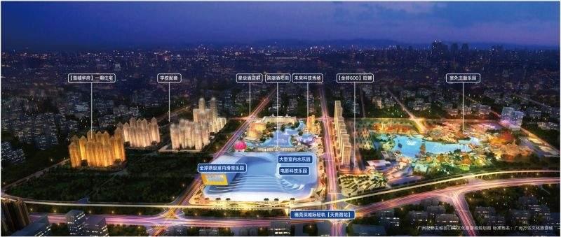 广州万达城效果图