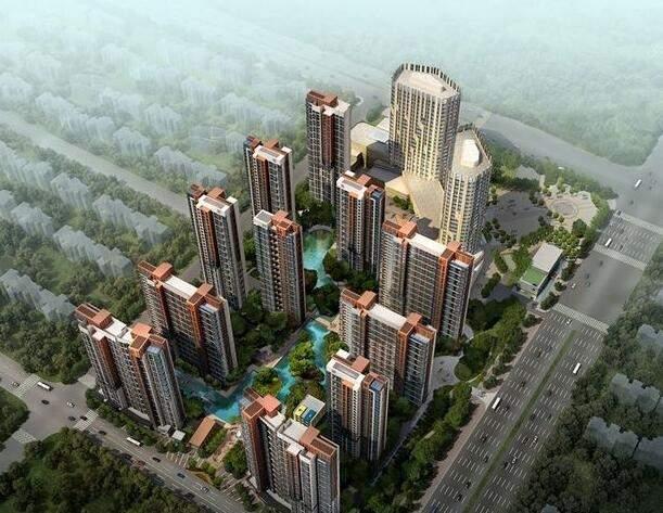 锦江城市花园二期效果图