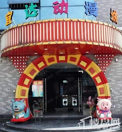 青浦宝龙城市广场配套图