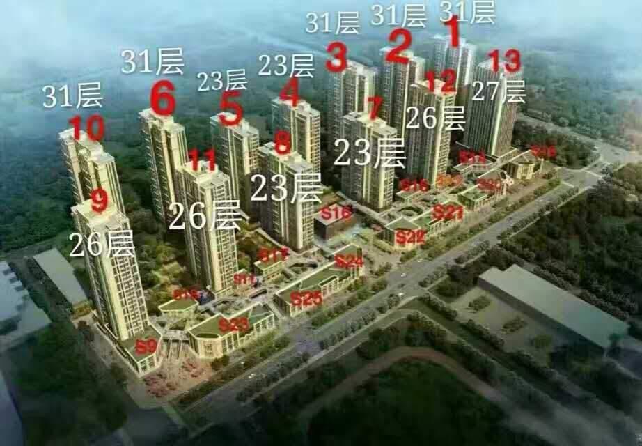 涿州鹏渤九里京城效果图