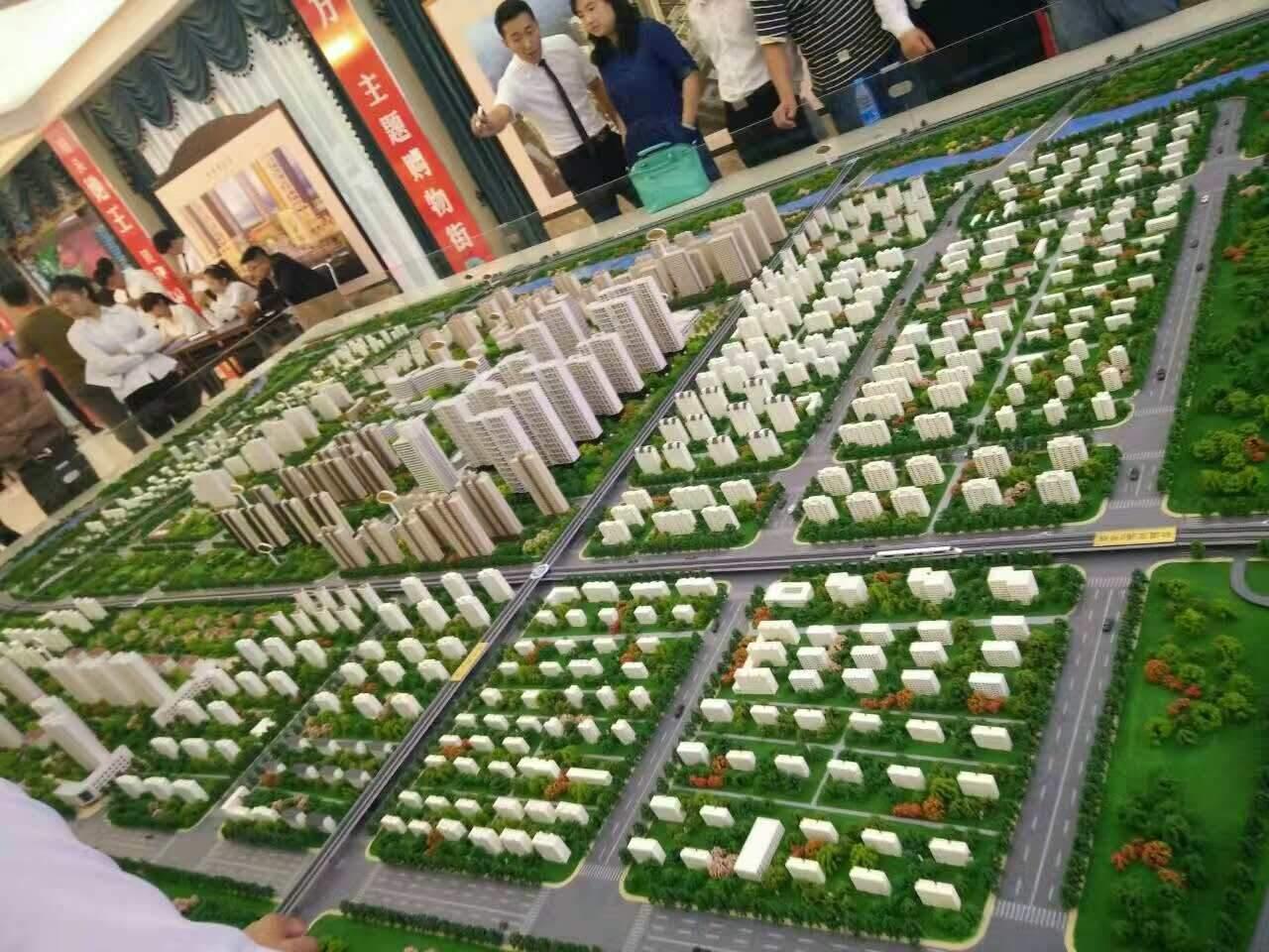 涿州鹏渤九里京城实景图