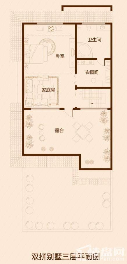 金宸领地别墅户型图