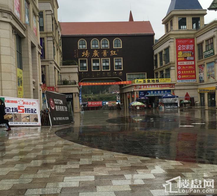 红叶广场实景图