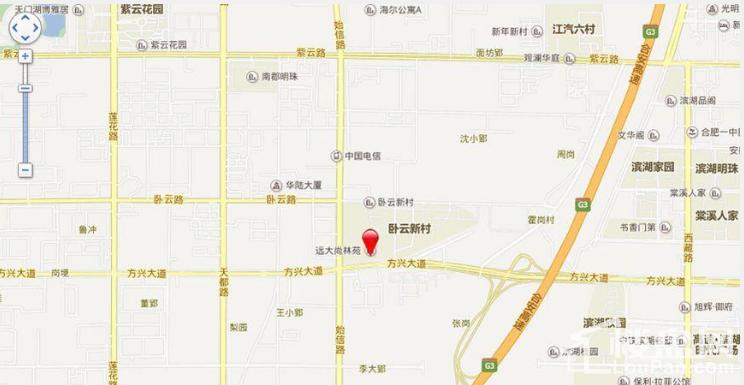 远大尚林苑位置图