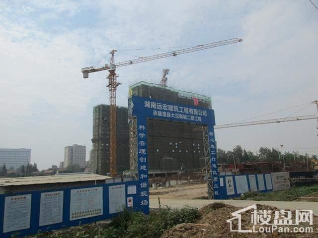 大汉新城实景图