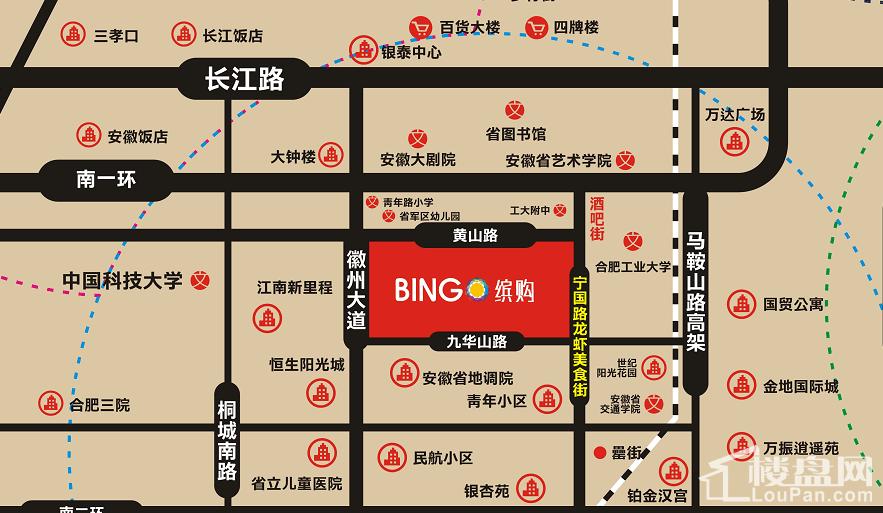 BINGO缤购位置图