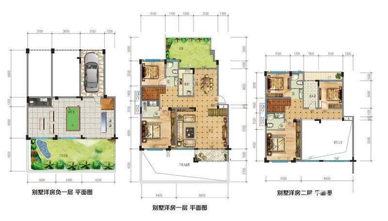 墅级洋房 平面图