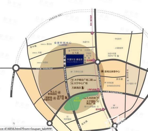 静安府东区位置图