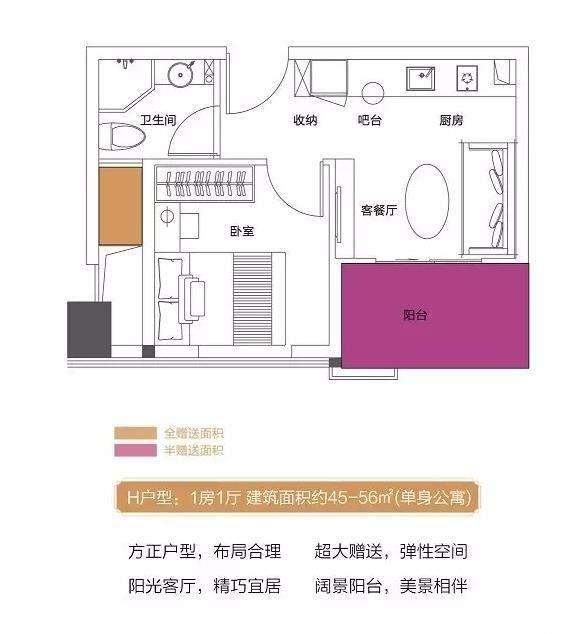 住宅产权公寓户型图
