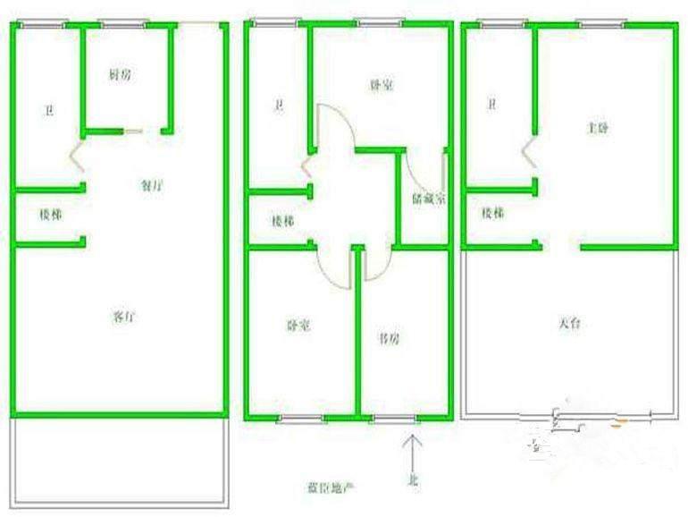 4-2-3房型图