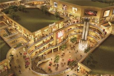 国际迪拜城效果图