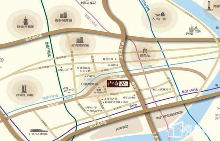 卢湾68位置图