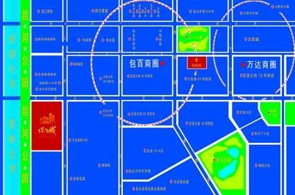 海德·星河城位置图
