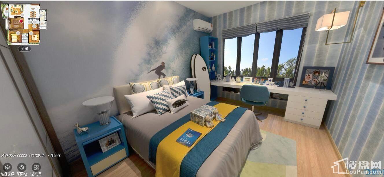 129平卧室