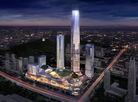 民盈山·国贸中心效果图
