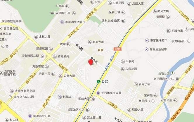 名居广场位置图
