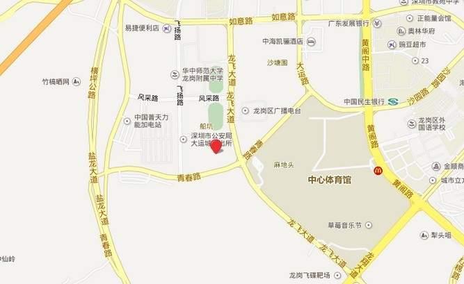 启迪协信深圳科技园位置图