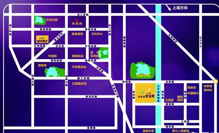 碧桂园位置图