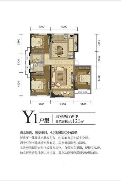 中国铁建·西派国际户型图