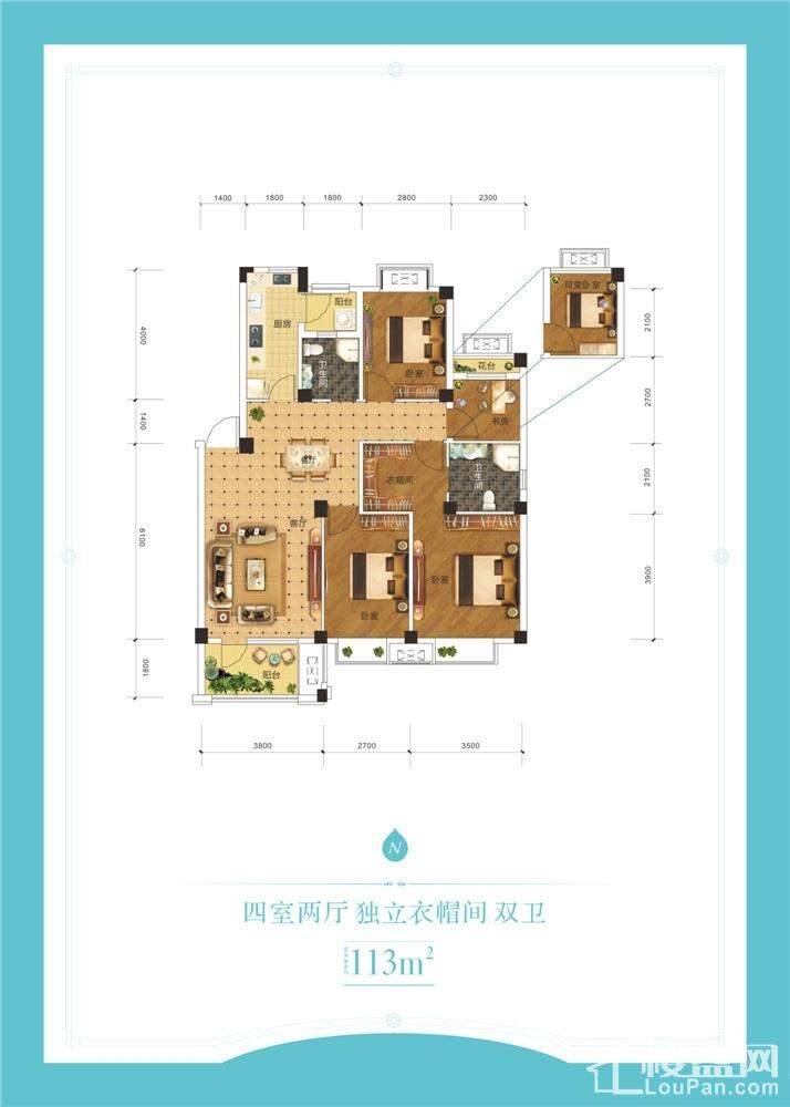 奥青城凤湖嘉园户型图