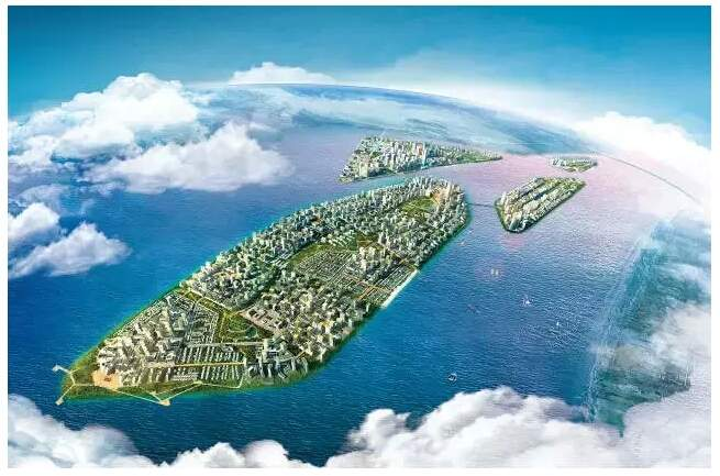 马来西亚碧桂园森林城市效果图