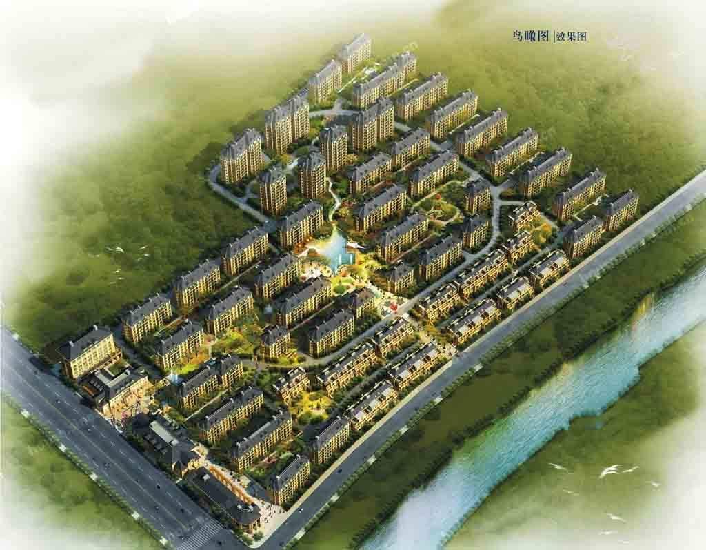 首府二期·丹桂苑效果图
