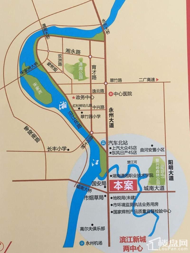 丽水琴湾位置图