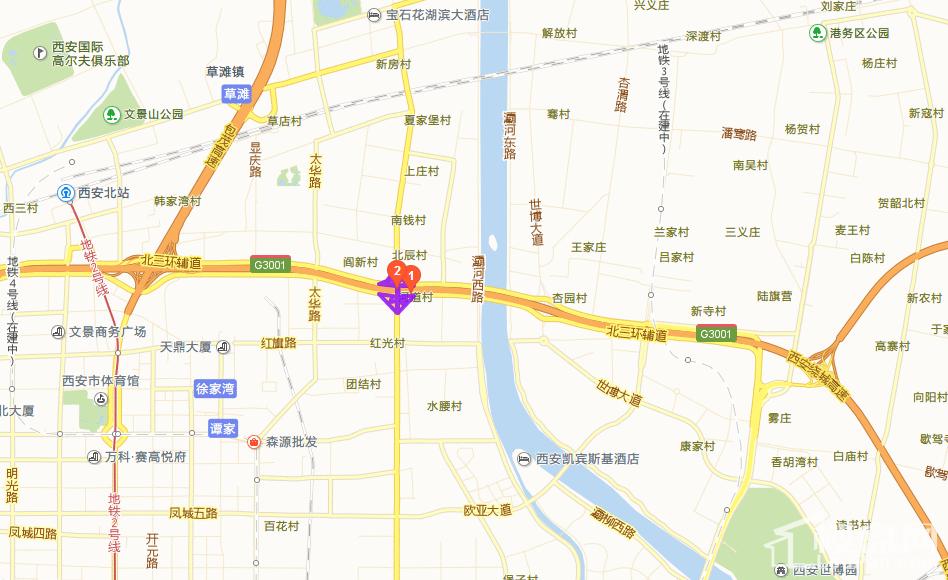 碧桂园凤凰城位置图