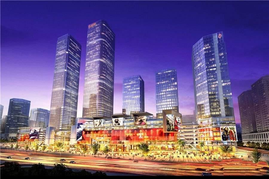 重庆中迪广场高清图