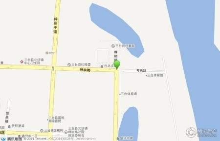 江岸国际位置图