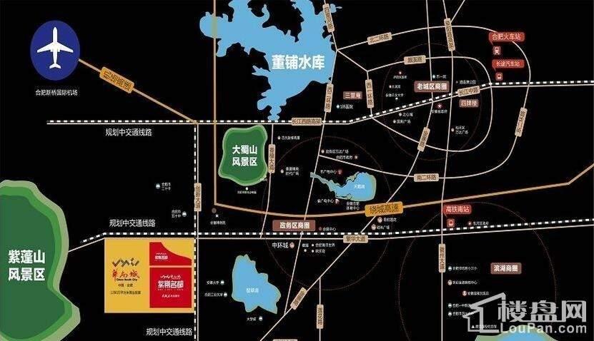 华南城·紫荆名都位置图