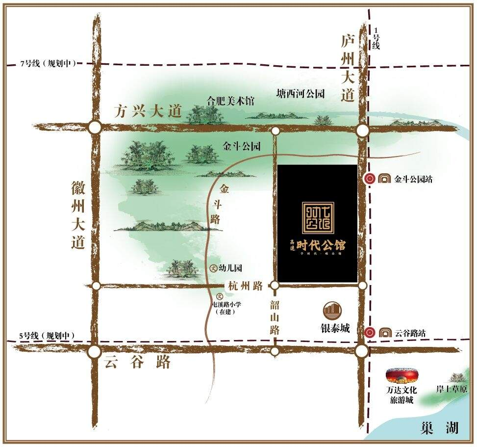 高速时代公馆位置图