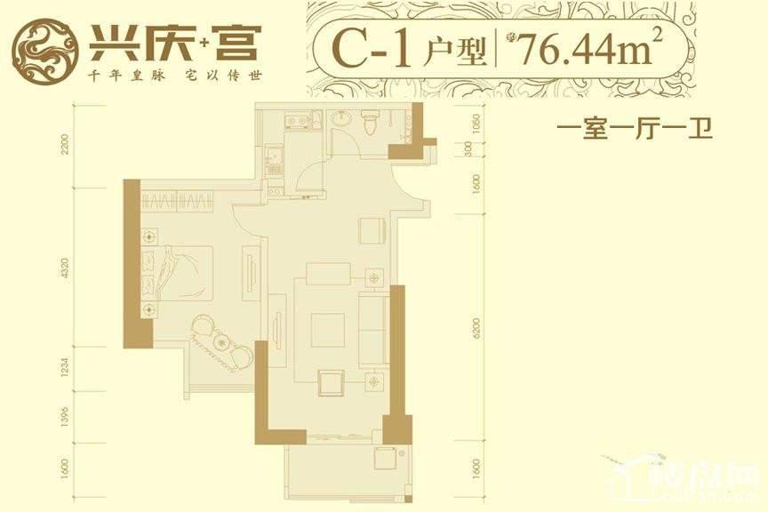 7#楼C1户型