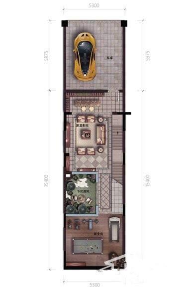 广物·海南之心户型图