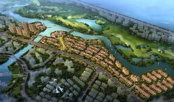 上海绿地长岛高清图