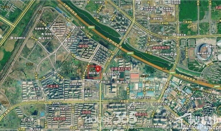 融科城位置图
