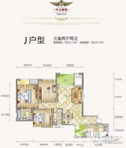 中元广场j户型