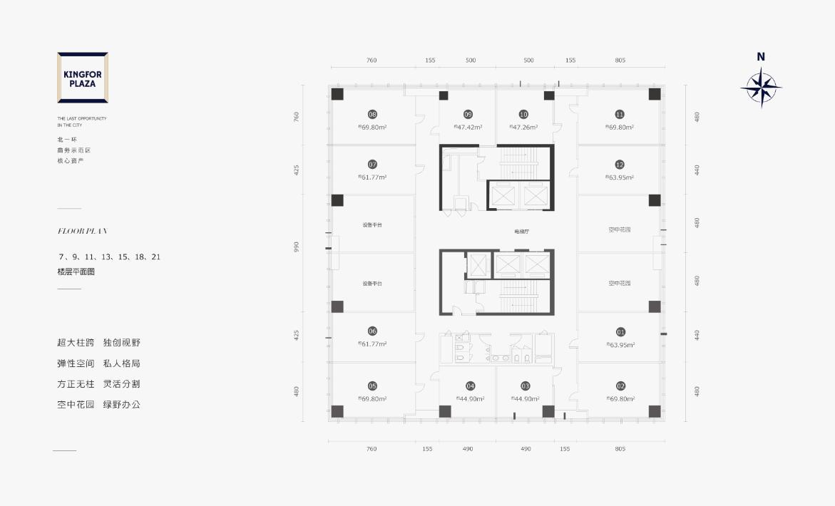 金丰广场位置图