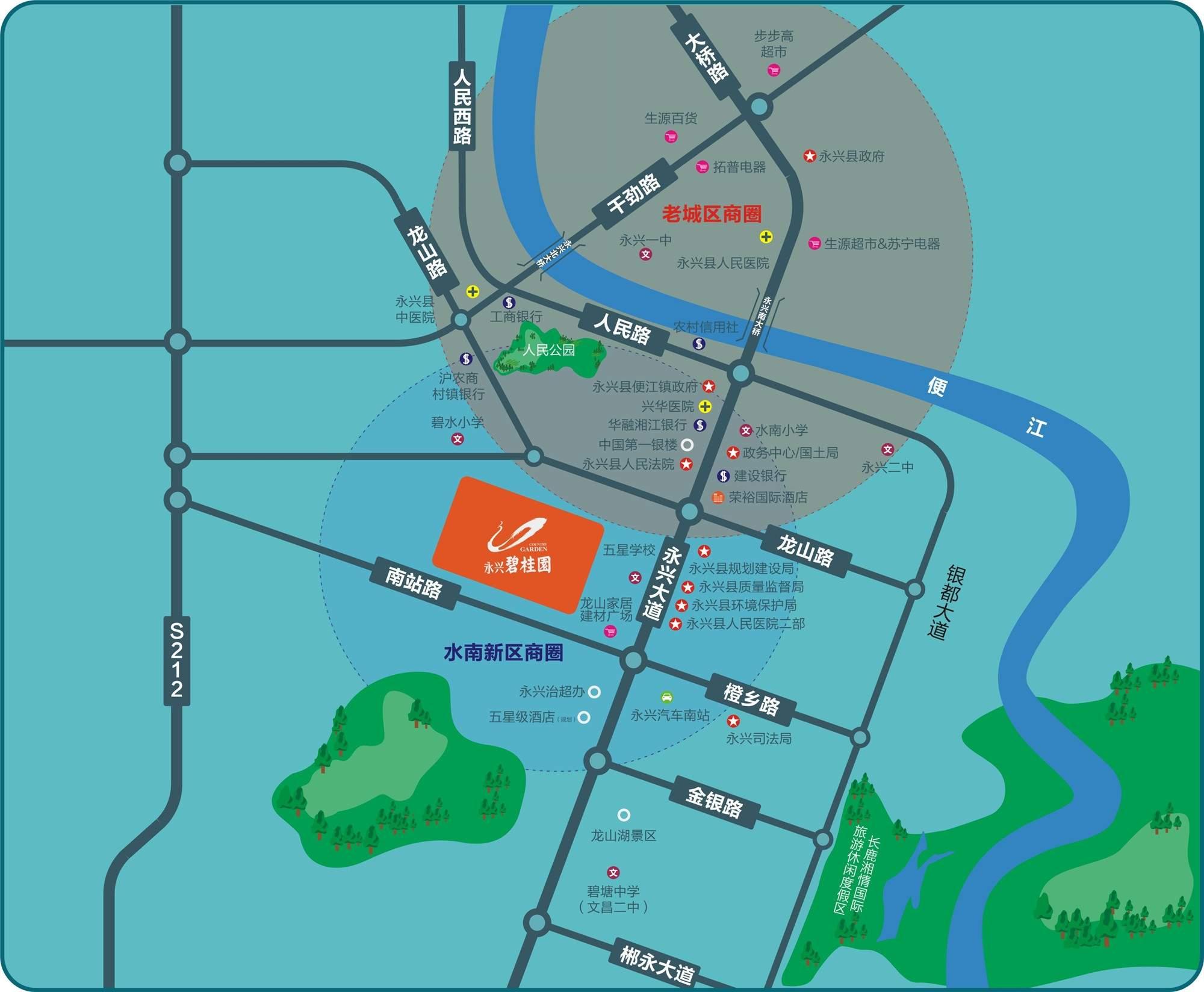 永兴碧桂园位置图