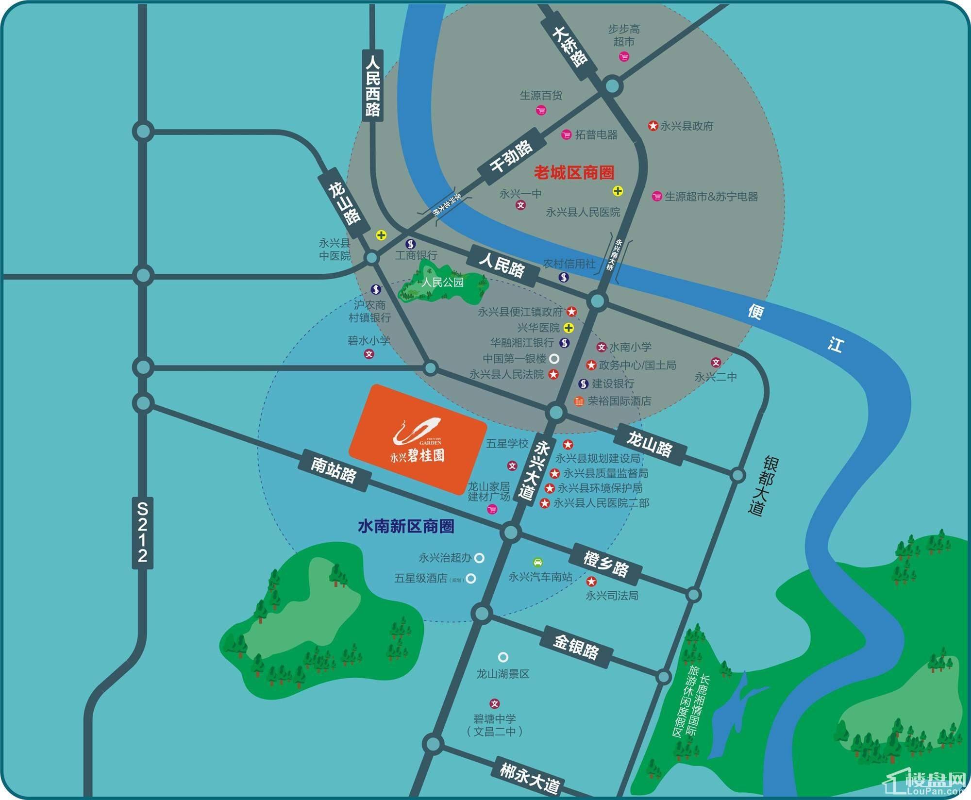 永兴碧桂园区位交通图