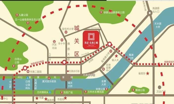 扶正·太和上城位置图