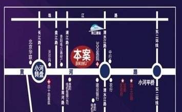 亚青城位置图
